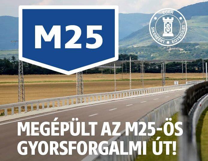 Megépült az M25-ös