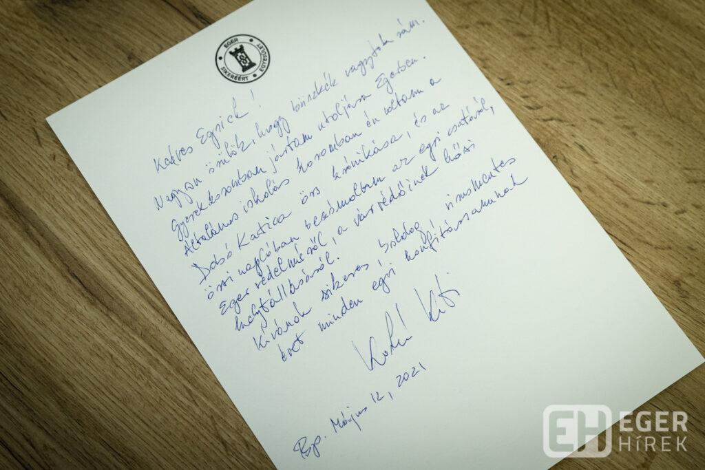 Karikó Katalin levele